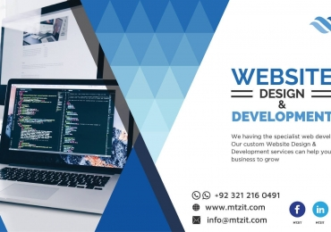 MTZ provide Professionals & Creative Services We can develop your Ecommerce website exactly in the way you want!