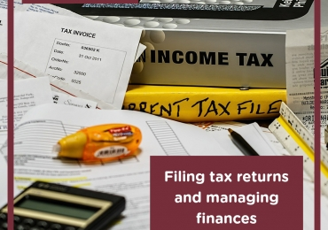 Filing Tax Returns And Managing Finances