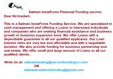 Financial Investment Planning & Loans Offer