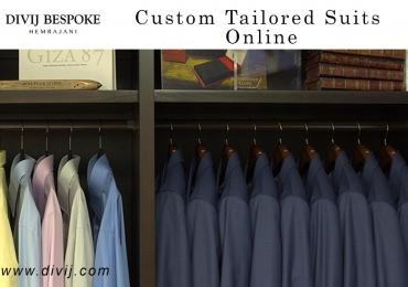 Divij – Custom Tailored Suits Online