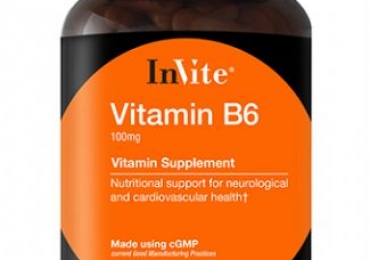 Calm your Nerves Down with InVite's Vitamin B6 Dietary Supplement