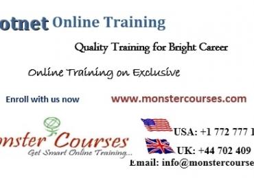 .Net Onlie Training DOTNET Online Training