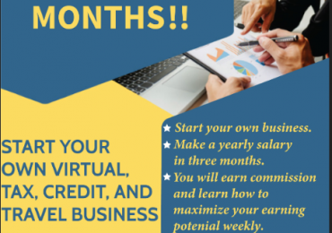 MAKE A YEARLY SALARY IN JUST 3 MONTHS BECOMING A TAX PREPARER