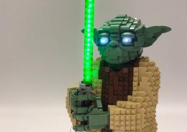 LED Light Parts For LEGO YODA 75255