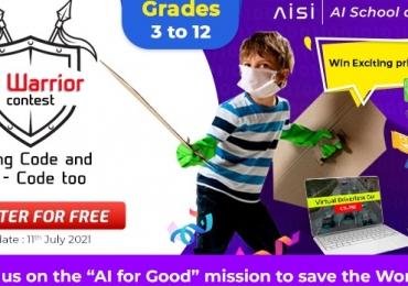 """AI World School announces the """"AI COVID WARRIOR"""" Contest"""