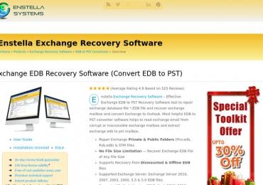 Repair corrupted EDB file