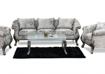 Sofa 0096 WF Full Set with Center Table